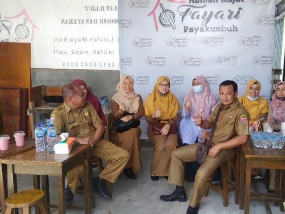 DPMPTSPPTK Bukittinggi Belajar Pengembangan IKM Ke Kota Payakumbuh