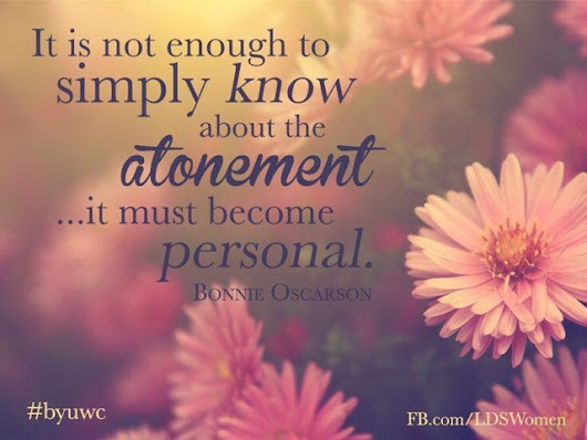 Personalizing the Atonement