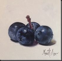 Four Blueberries 2