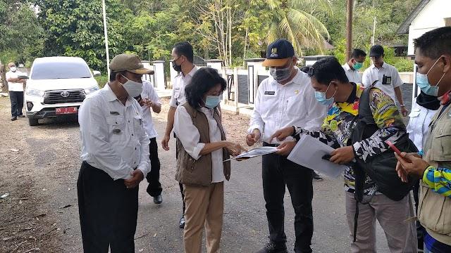 Didampingi Kadis PUPR, Plt Bupati Pulpis Cek Infrastruktur Jalan di Wilayah Pandih Batu