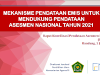Mekanisme Pendataan EMIS Untuk Mendukung Pendataan ANBK 2021