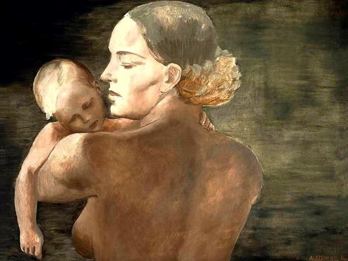 Madre. 1932 Alexander Deyneka