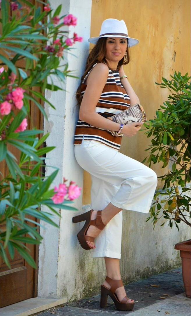 I Come Just Pantaloni Culottes Abbinare Anna nwm0yvN8O