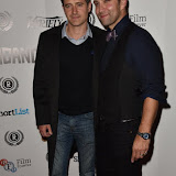 OIC - ENTSIMAGES.COM - Tom Chambers and Stefan Booth at the  Meet Pursuit Delange Premier at the 23rd Raindance Festival London UK 1st October 2015 Photo Mobis Photos/OIC 0203 174 1069