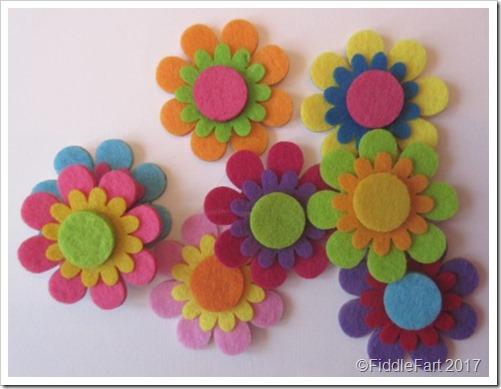 The Works Felt Flowers