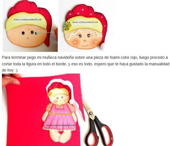 6 muñecos