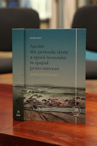 "Book Release: Sava Eugen, ""Settlements from Late Bronze Age in the space between Prut and Dniester Rivers"" Chișinău, ""Bons Offices"", 2014, 492 p."