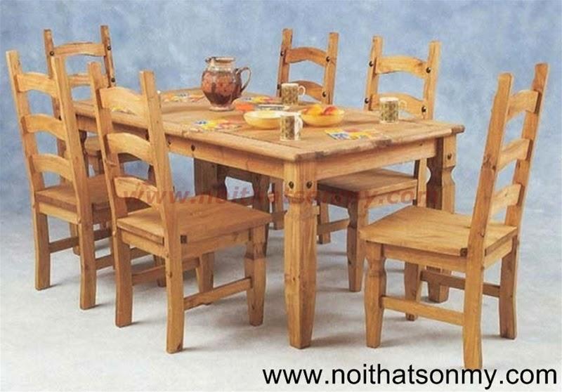 Bộ bàn ghế gỗ 10