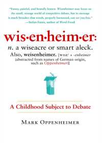 Wisenheimer By Mark Oppenheimer