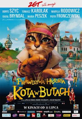 Plakat filmu: Prawdziwa historia Kota w Butach
