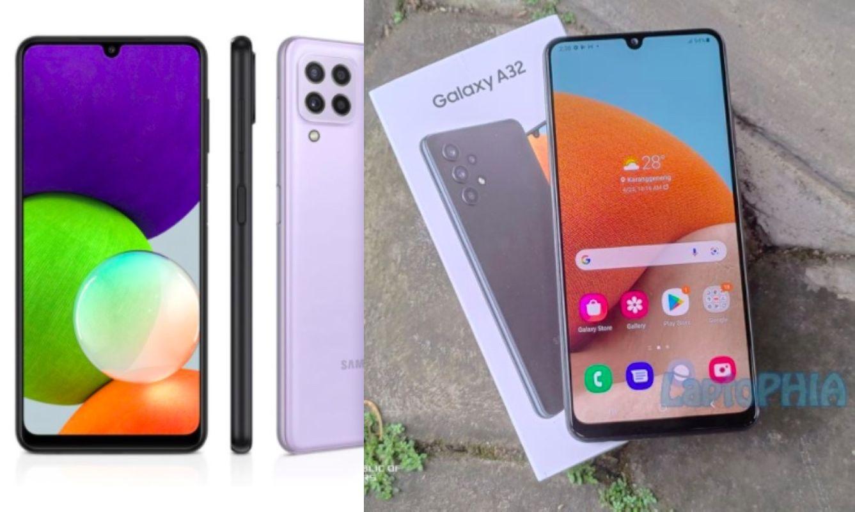 Komparasi Samsung Galaxy A22 vs Samsung Galaxy A32: Harga Selisih 600 Ribu, Mana yang Lebih Unggul?