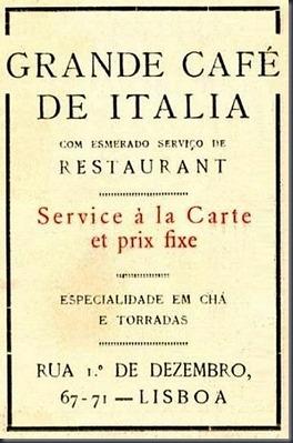 1922 Café de Italia (Julho)