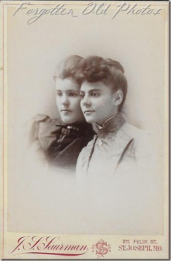 Lizzie and Minnie 1889 DL ant