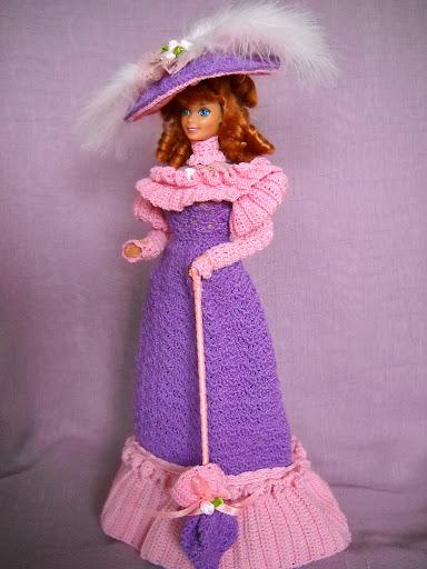 فساتين للعروسة باربي الكروشية طريقة ملابس لعرائس الاطفال DSCN1647.jpg