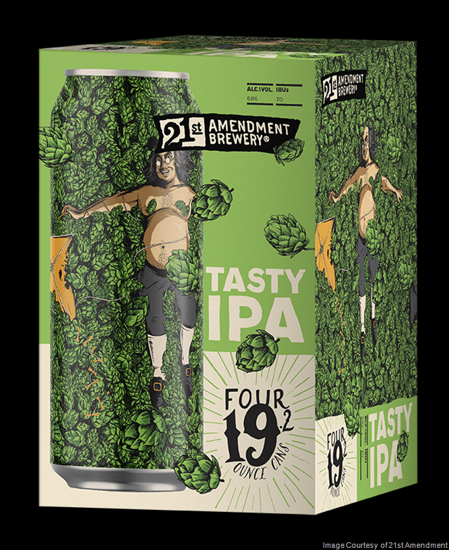 21st Amendment Tasty IPA Returns