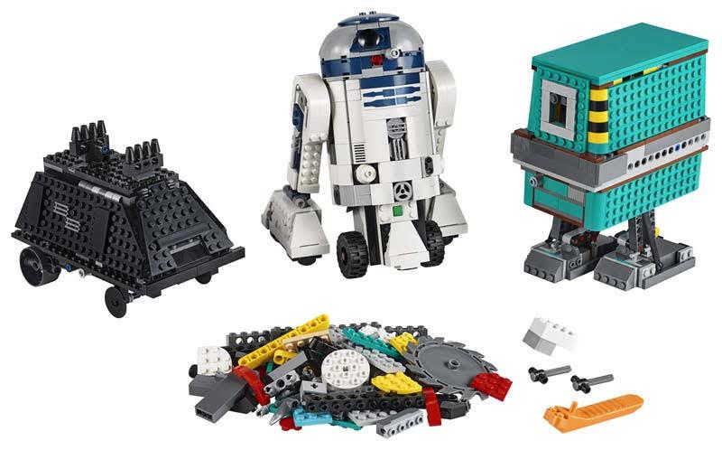 Contenido de Lego® 75253 Comandante Droide