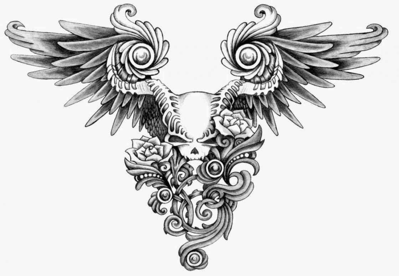 Free Skull Tattoo Designs and Art