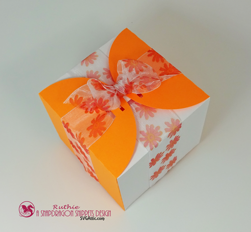 Ribbon wrap box - SnapoDragon Snippets - Ruthie Lopez - My Hobby My Art 3
