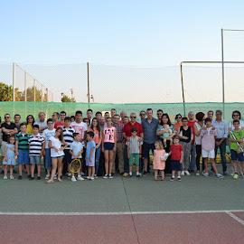 Clausura de las escuelas del Club de Tenis Montijo