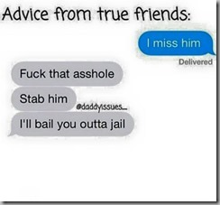 advice from true friends