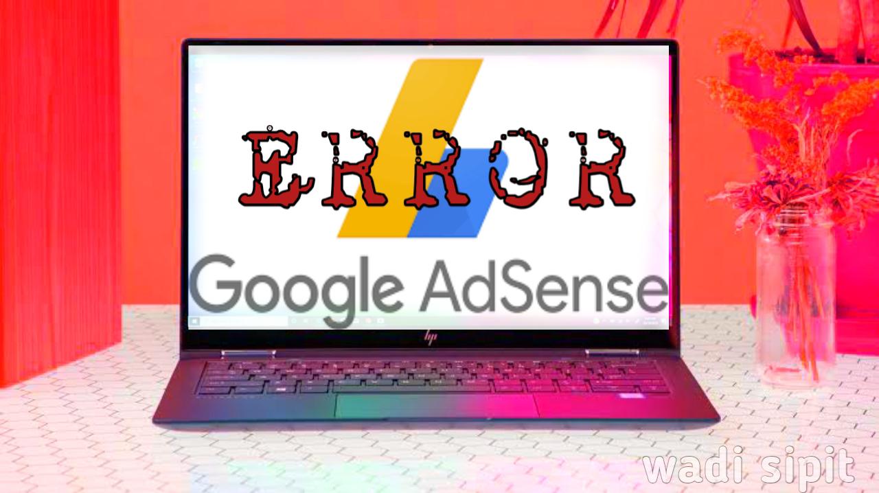 penyebab blog di tolak oleh adsense