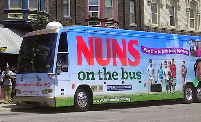 Nuns on the Bus: merry political prankster hypocrites