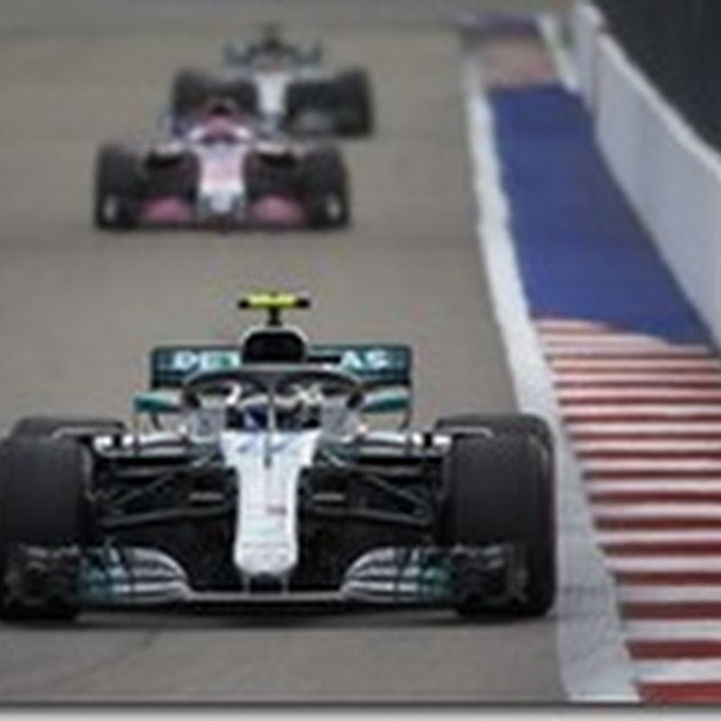 GP di Russia: Bottas in pole