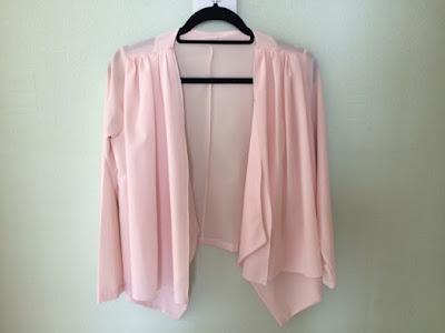 ebay pink shiffon shirt