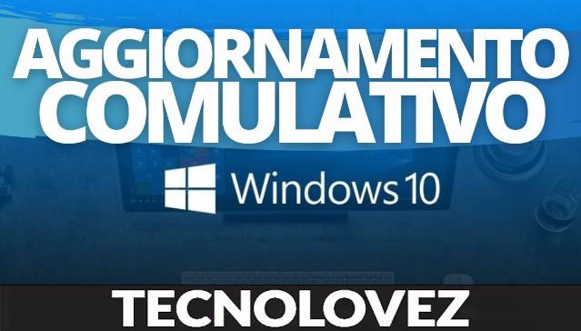 Windows 10 KB5003173 - Disponibile l'aggiornamento cumulativo di maggio 2021