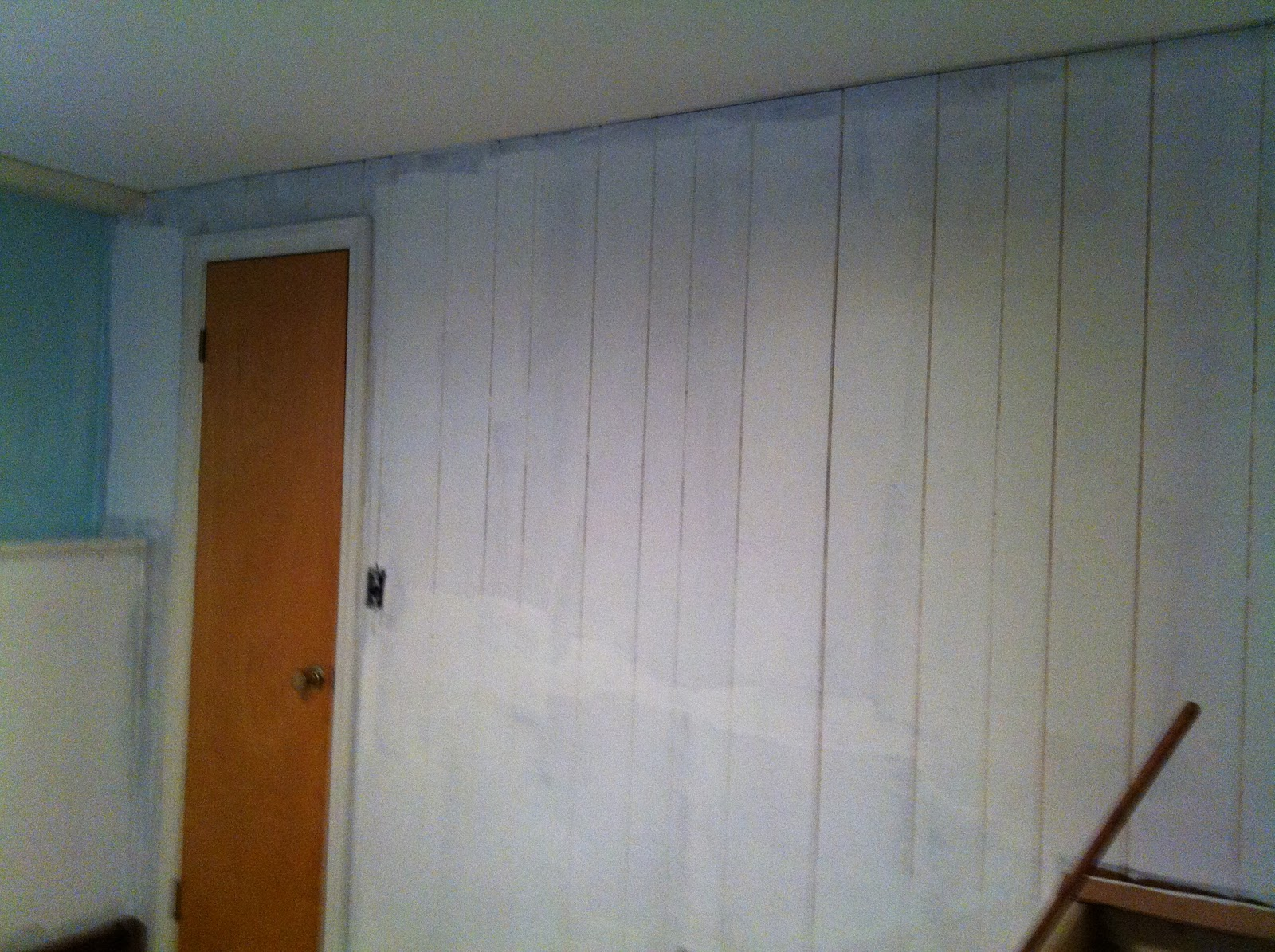 The pfaff pfix painting wood paneling Priming walls before painting