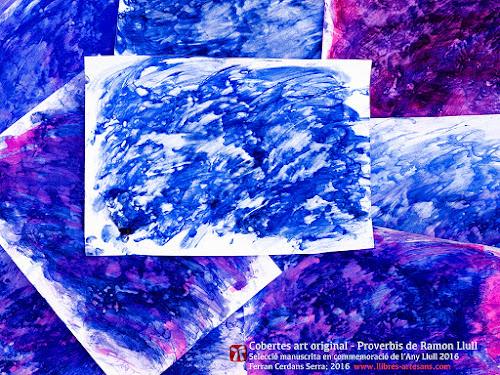 Mar Mediterrani - Selecció manuscrita Llibre de mil proverbis