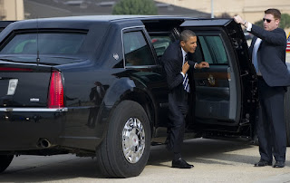 US presidential limousine the Beast