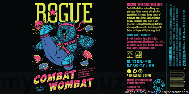 Rogue Combat Wombat Coming To Bottles