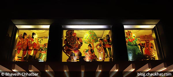 The 3 distinctive paintings of Savya Rasa [Koregaon Park, Pune]