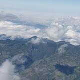 Vue aérienne sur les Andes près du Cotocachi. 15 décembre 2013. Photo : J.-M. Gayman