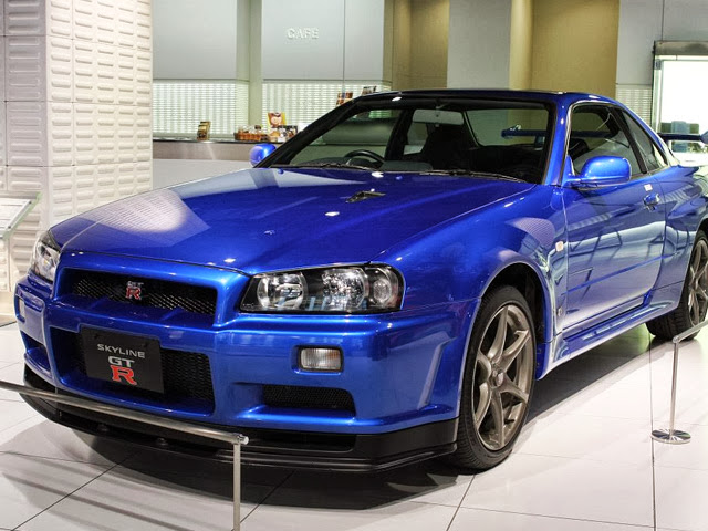 Japanese Tuner Icons: Nissan Skyline GT-R (localized)