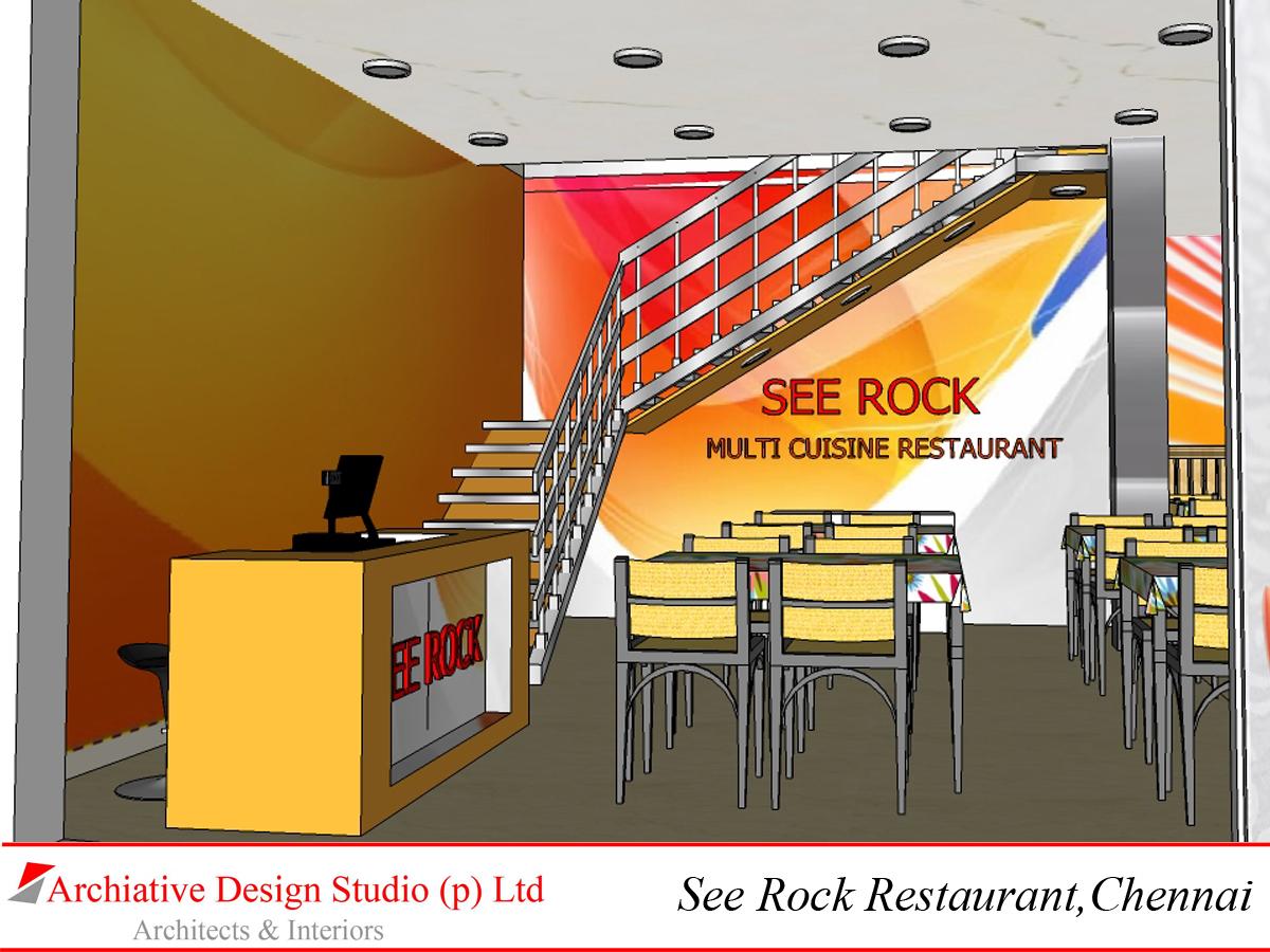 Archiativedesigns interior design for see rock restaurant