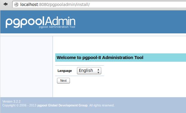 halaman instalasi pgpool | wirabumisoftware.com