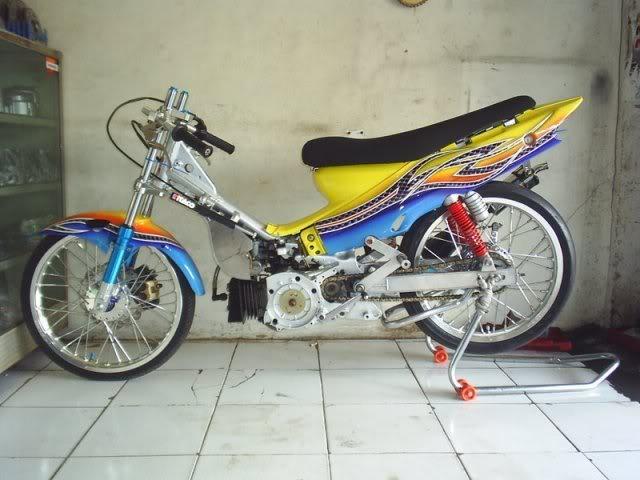 kumpulan modifikasi motor fiz r drag