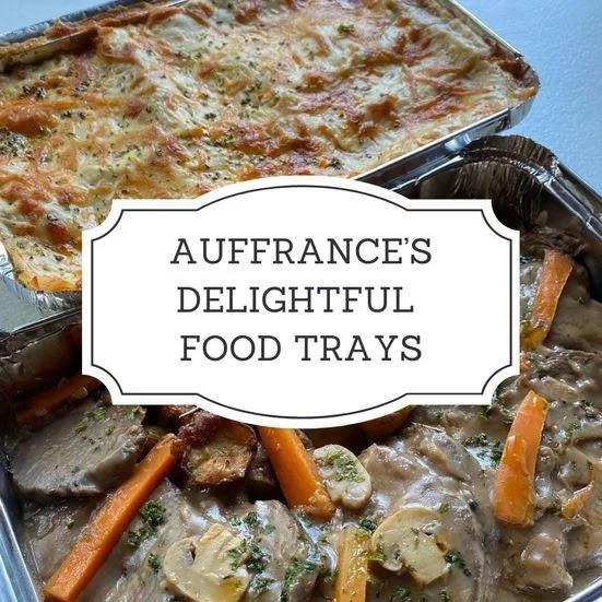 Auffrance food tray
