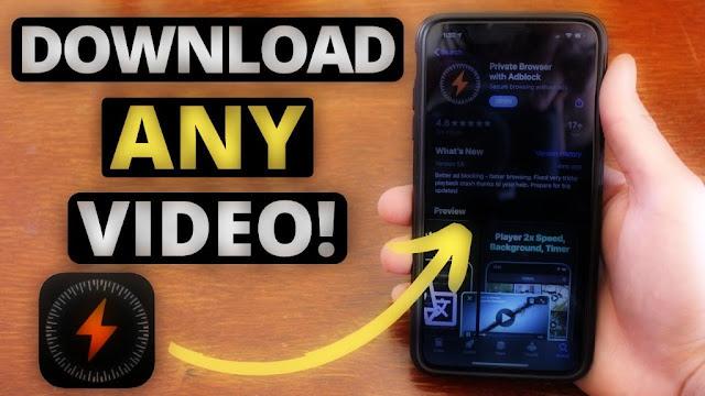 أفضل برنامج تنزيل الفيديو على الايفون والايباد