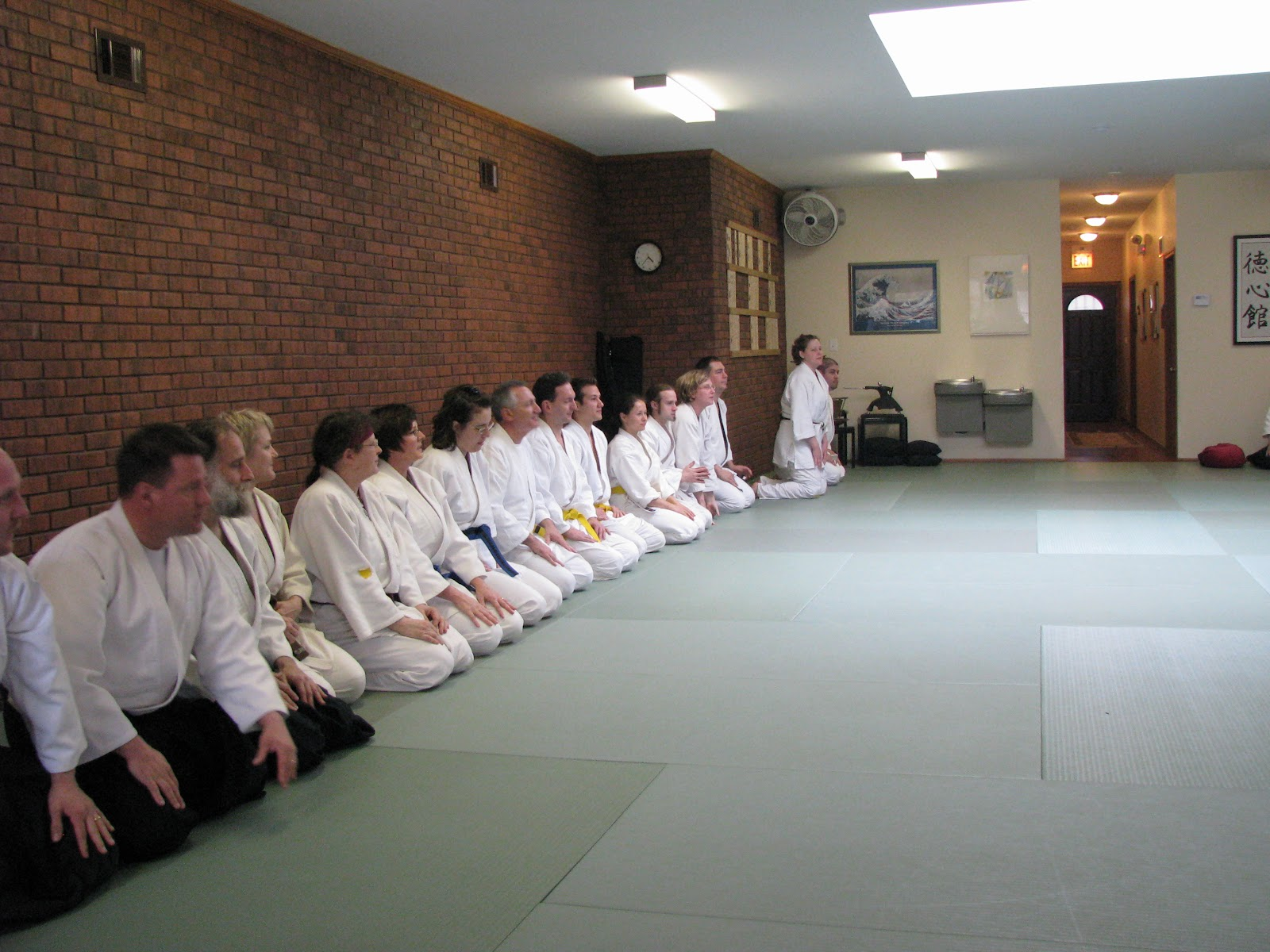 Kyokai Kyu Exam April 16 2011 - Tokushinkan Dojo