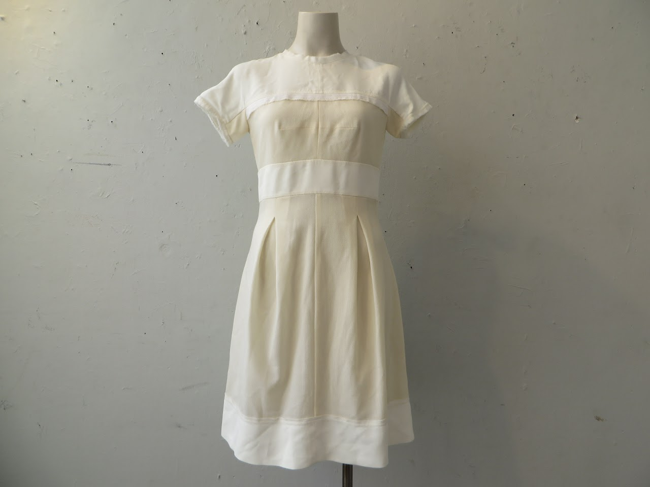 Amelia Toro Shades of White Dress
