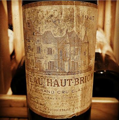 Chateau Haut-Brion 1947  label shot by ©LeDomduVin 2020
