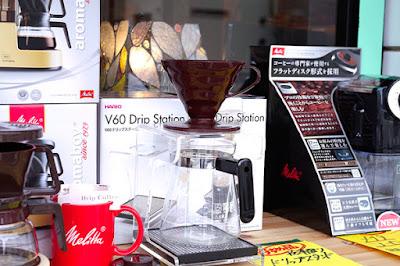 BanCa野田店:コーヒー器具セール:ハリオ-ドリップステーション