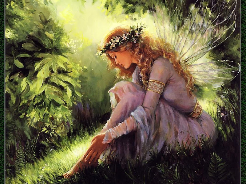 Graan Fairy In The Morning, Fairies Girls