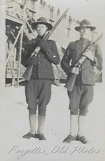 WWI Soldiers Pequot Lakes