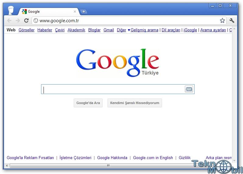 Google Chrome v43.0.2357.130 Türkçe