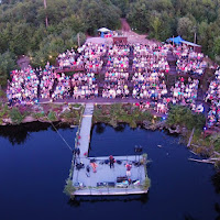 Aerial View during Alan Doyle concert - by Hermann Thoene