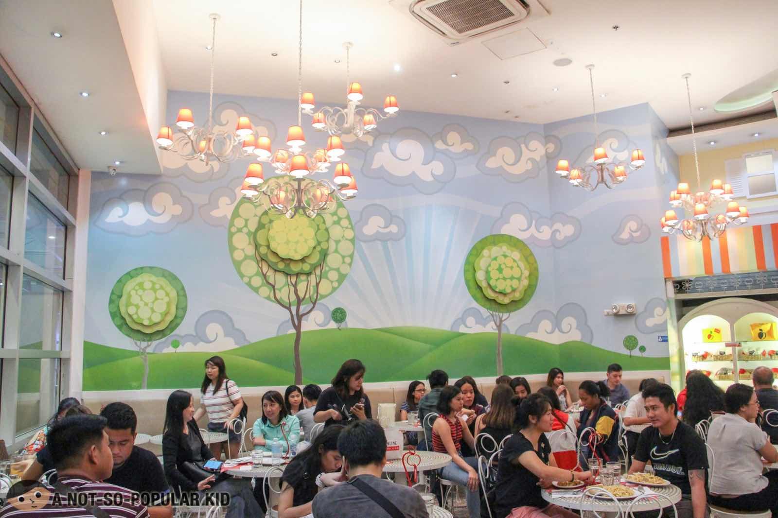 Adorable interior of Banapple in Gateway Mall